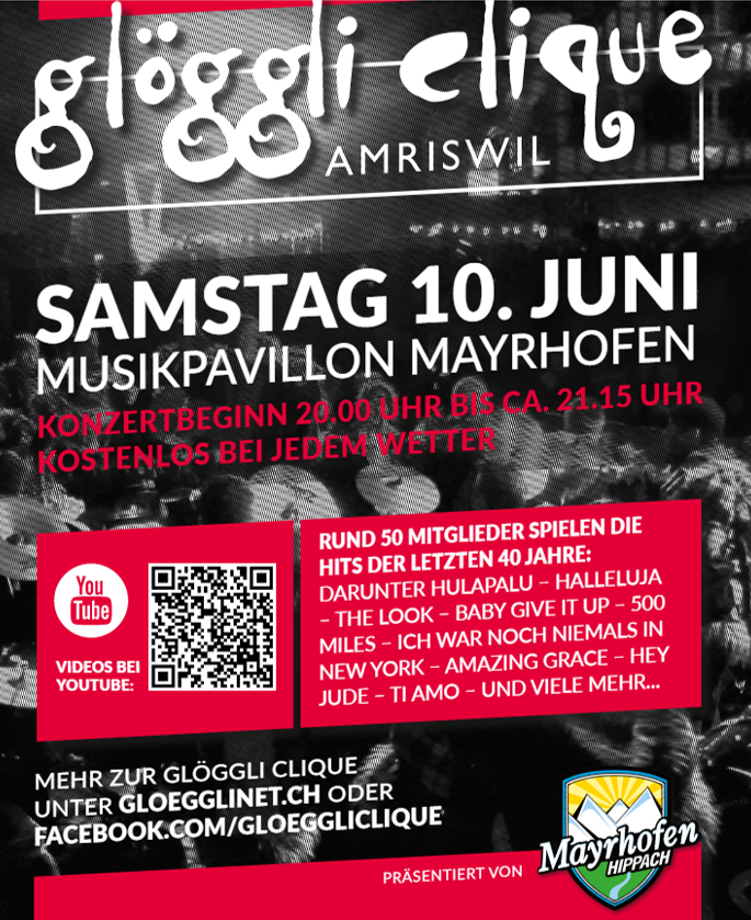 Pavillon-Konzert in Mayrhofen