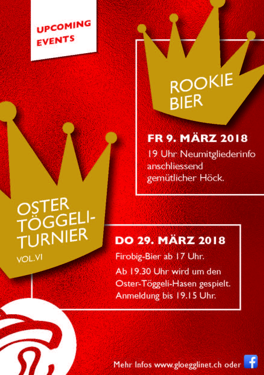 Oster-Töggeli-Turnier